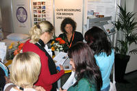- Reges Interesse am Messestand
